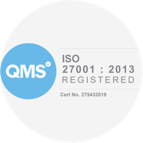 'ISO 27001: 2013 registered